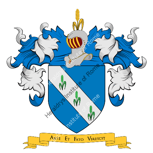 Coat of Arms of family Risaglia