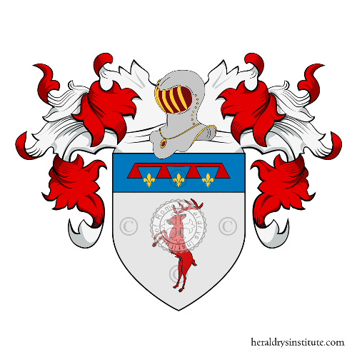 Coat of Arms of family Dainelli da Bagnano