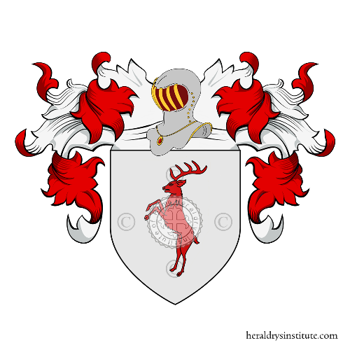 Coat of Arms of family Dainelli