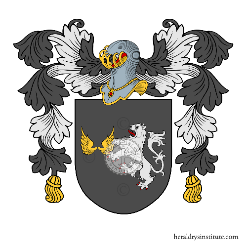 Coat of Arms of family Pumariega