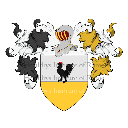 Coat of Arms of family Ghelli