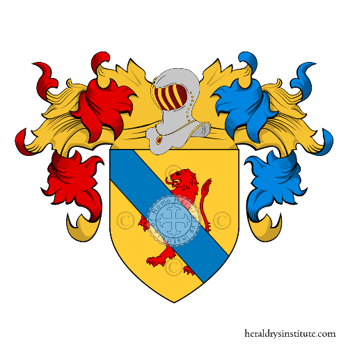 Coat of Arms of family Tenti