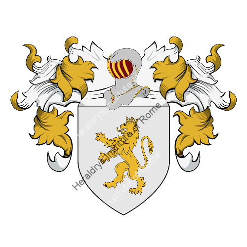 Coat of arms of family Verona