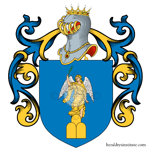 Coat of Arms of family Angelis