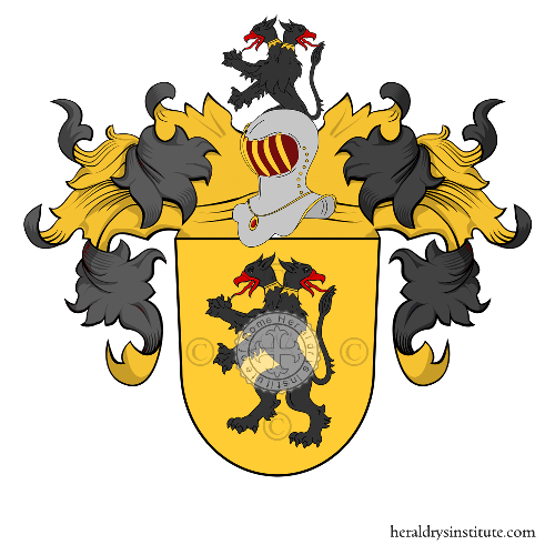 Coat of Arms of family Dick