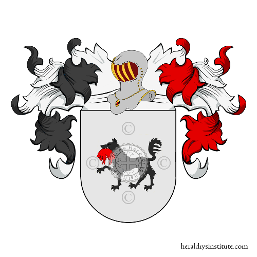 Coat of Arms of family Rubiano