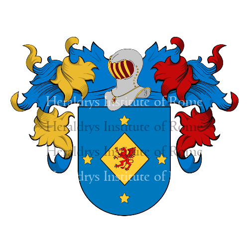 Coat of Arms of family Samà
