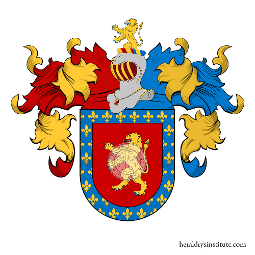 Coat of Arms of family Borges