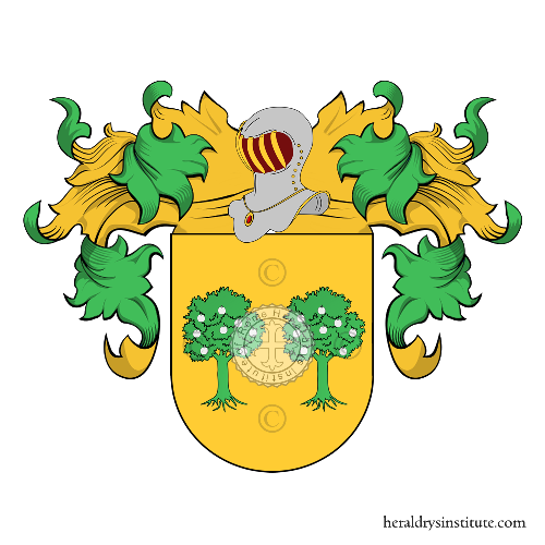 Coat of Arms of family Lastra