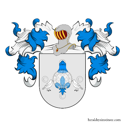 Coat of Arms of family San Vicente