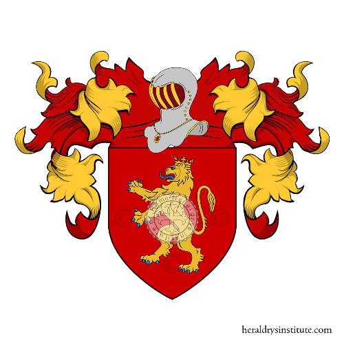 Coat of Arms of family Cariola