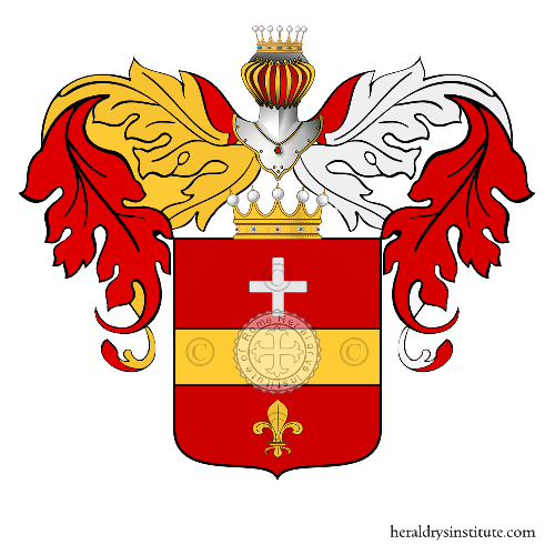 Coat of Arms of family Nicosia