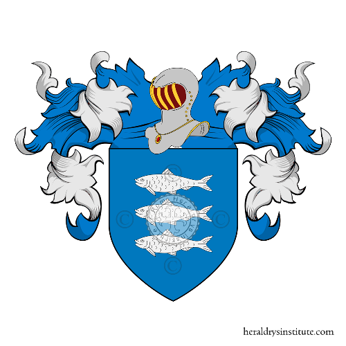 Coat of Arms of family Baisio