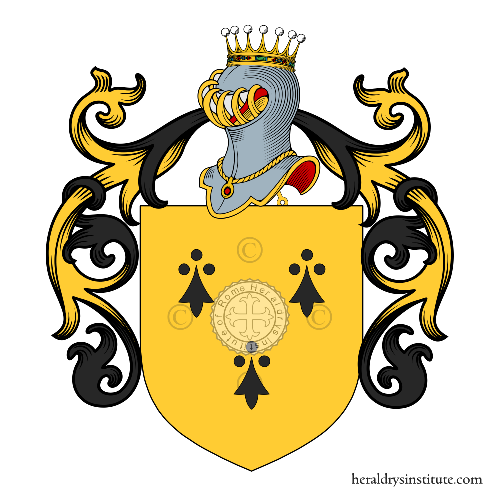 Coat of Arms of family Armelina