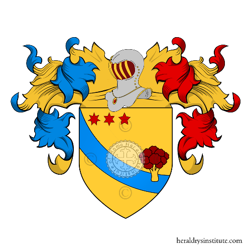 Coat of Arms of family Broccoli