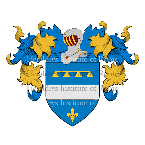 Coat of Arms of family Zanellotti