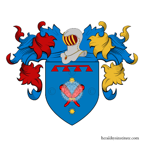 Coat of Arms of family Nocchi
