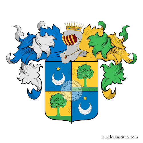 Coat of Arms of family Marion de Drui