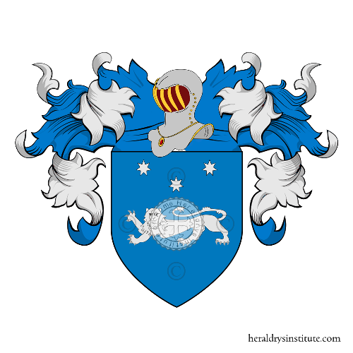 Coat of Arms of family Cerciello