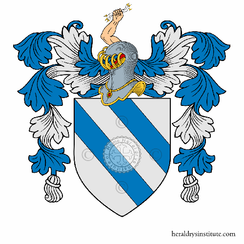 Coat of Arms of family Castrocucco