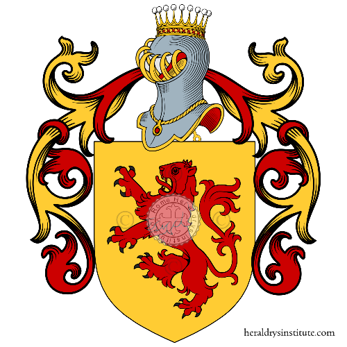 Coat of Arms of family Petitti
