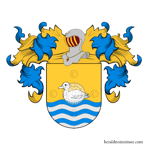 Coat of arms of family Anies