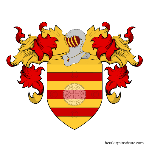 Coat of Arms of family Abboni
