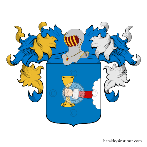 Coat of Arms of family Calzari