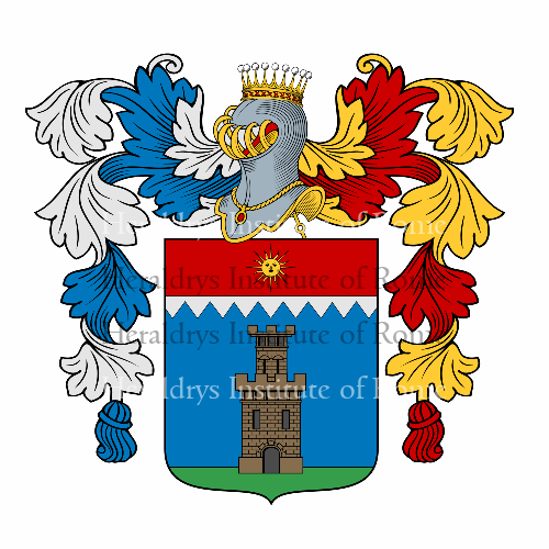 Coat of arms of family Soliani
