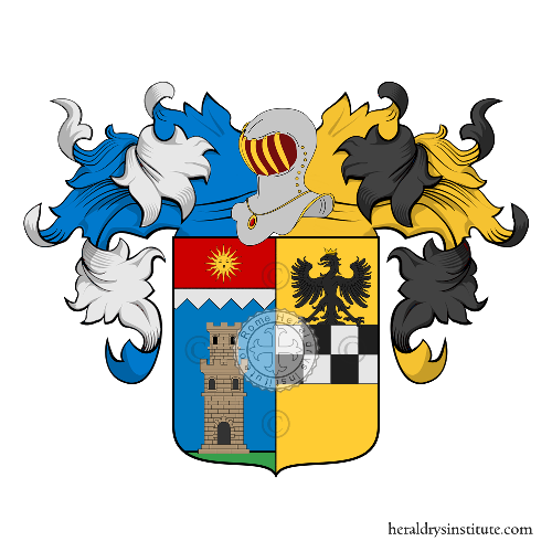 Coat of Arms of family Soliani Raschini