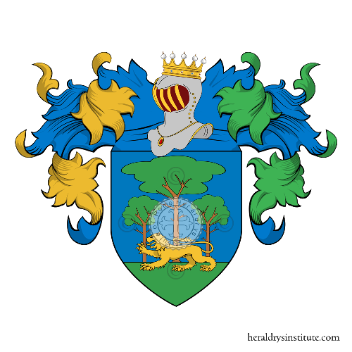 Coat of Arms of family Boscarelli