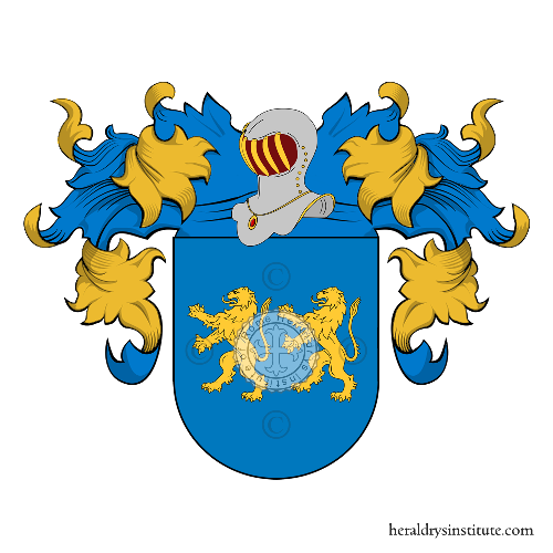 Coat of Arms of family Arba