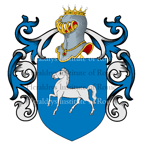Coat of Arms of family Cavallini