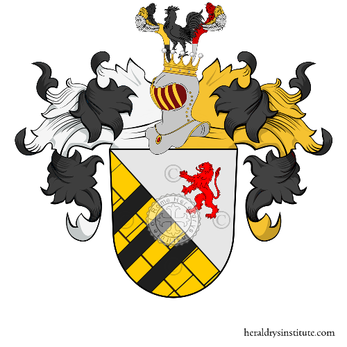 Coat of Arms of family Dechan ou Dechandt
