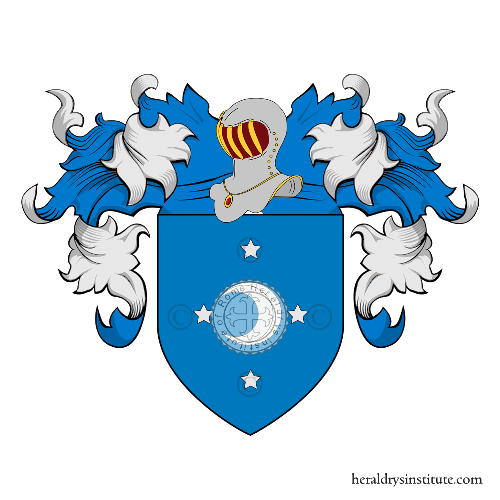 Coat of Arms of family Tacca