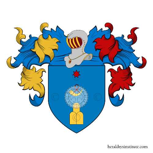 Coat of arms of family Migliozzi