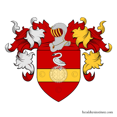 Coat of Arms of family Alba