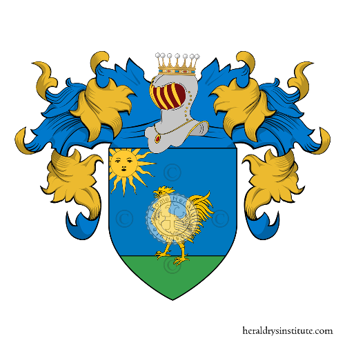Coat of Arms of family Scalesi