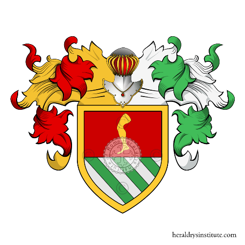 Coat of Arms of family Cossa
