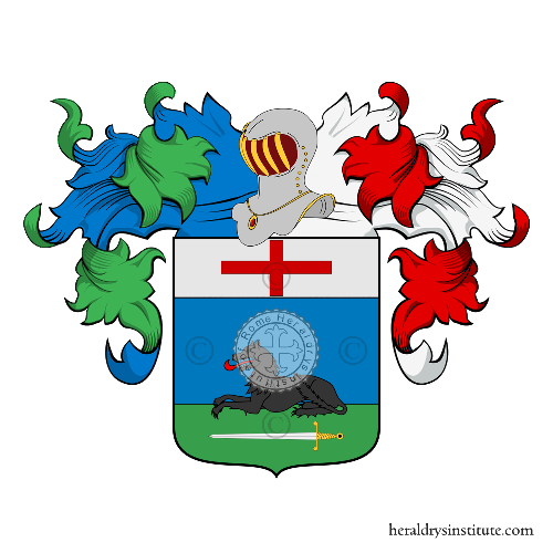 Coat of Arms of family Zabeo