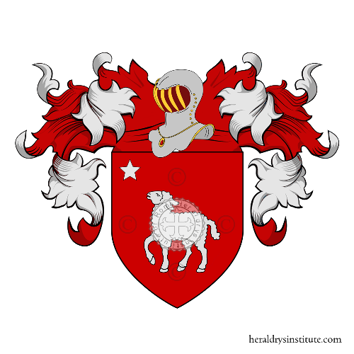 Coat of Arms of family Sergi