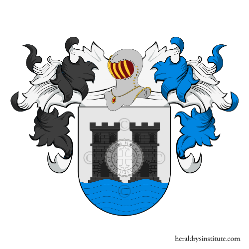 Coat of Arms of family Marecos