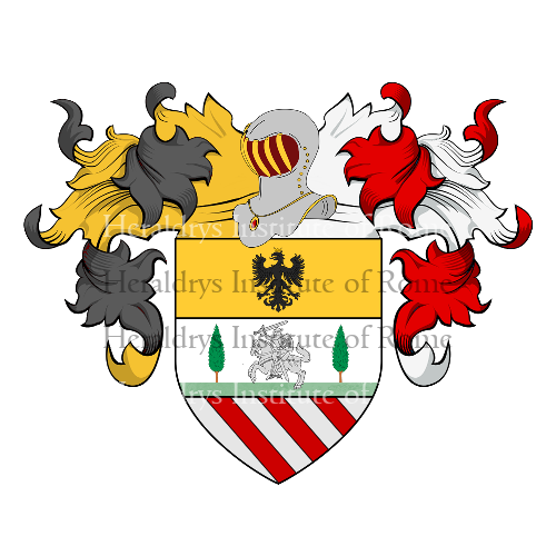 Coat of Arms of family Campagnani