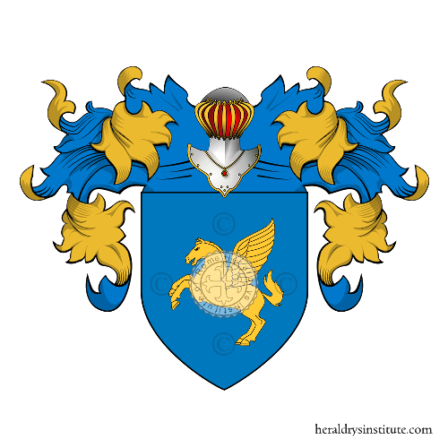 Coat of Arms of family Cavallaro