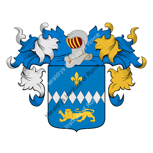 Coat of Arms of family Gianoli