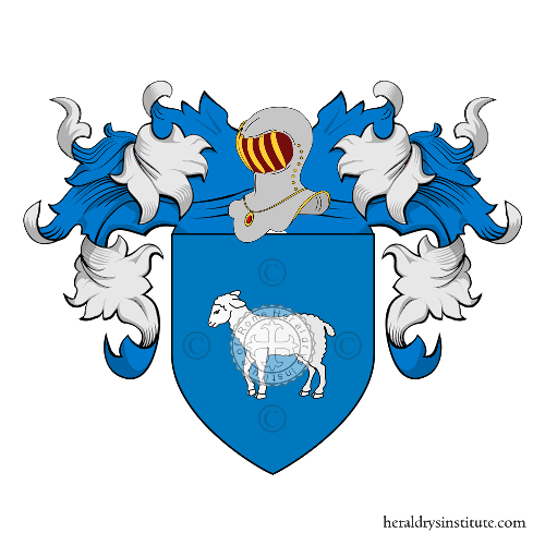 Coat of Arms of family Angioi