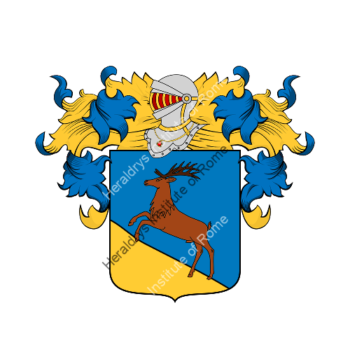 Coat of Arms of family Vervetti