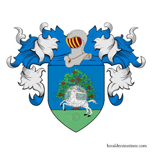 Coat of Arms of family Buratti