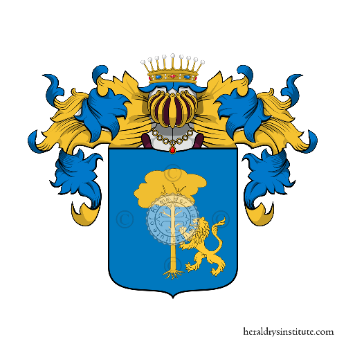 Coat of Arms of family Taranini