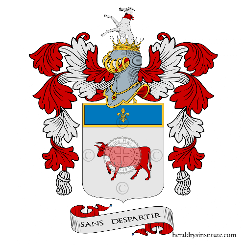 Coat of arms of family Vacca